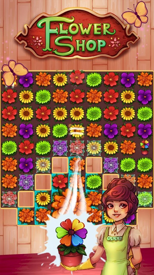 Blossom Jam: Flower Shop Screenshot #1
