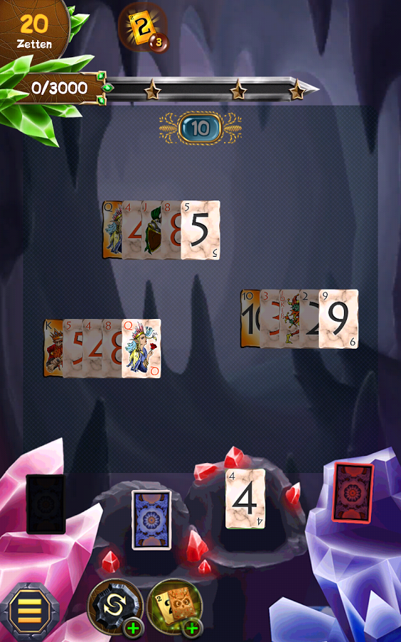 Regal Solitaire Shuffle Cards Screenshot #1
