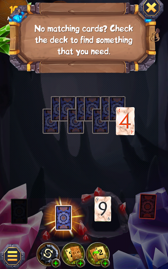 Regal Solitaire Shuffle Cards Screenshot #2