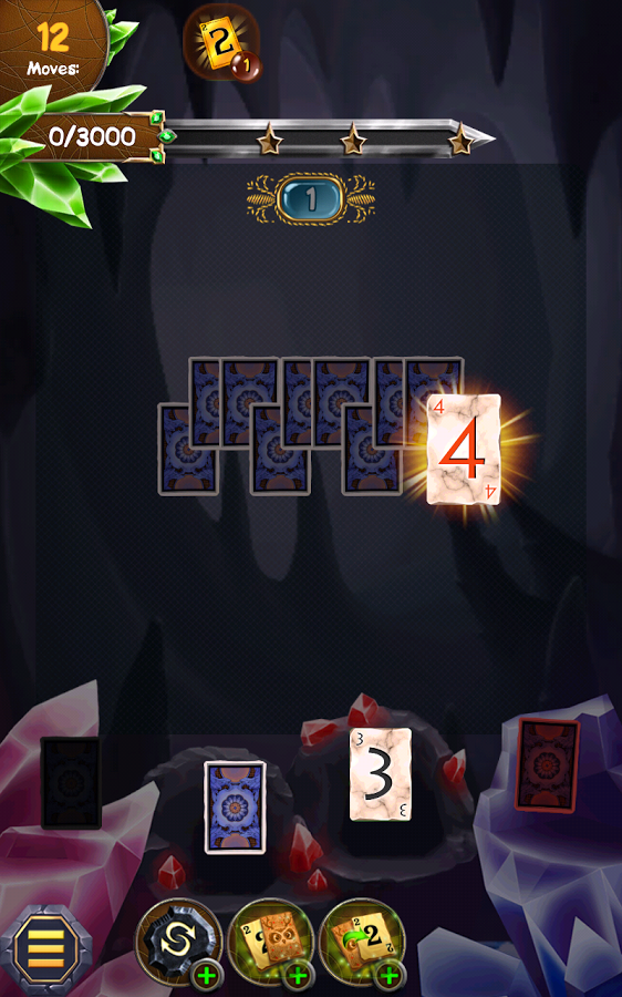 Regal Solitaire Shuffle Cards Screenshot #3