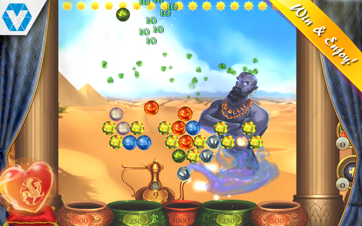 Arabian Nights: Bubble Shooter Screenshot #4