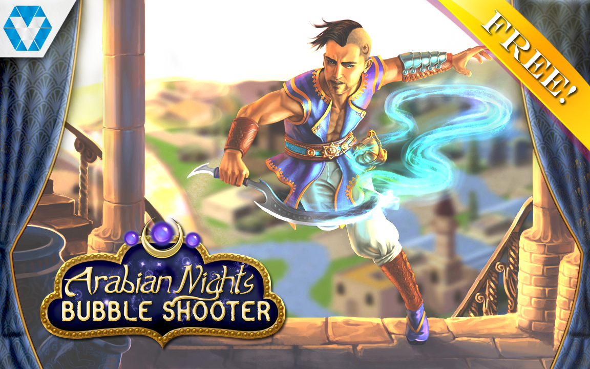 Arabian Nights: Bubble Shooter Screenshot #5