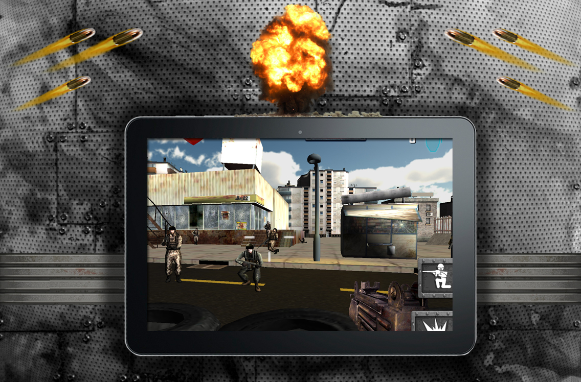 Modern War – Heroes of Combat Screenshot #4