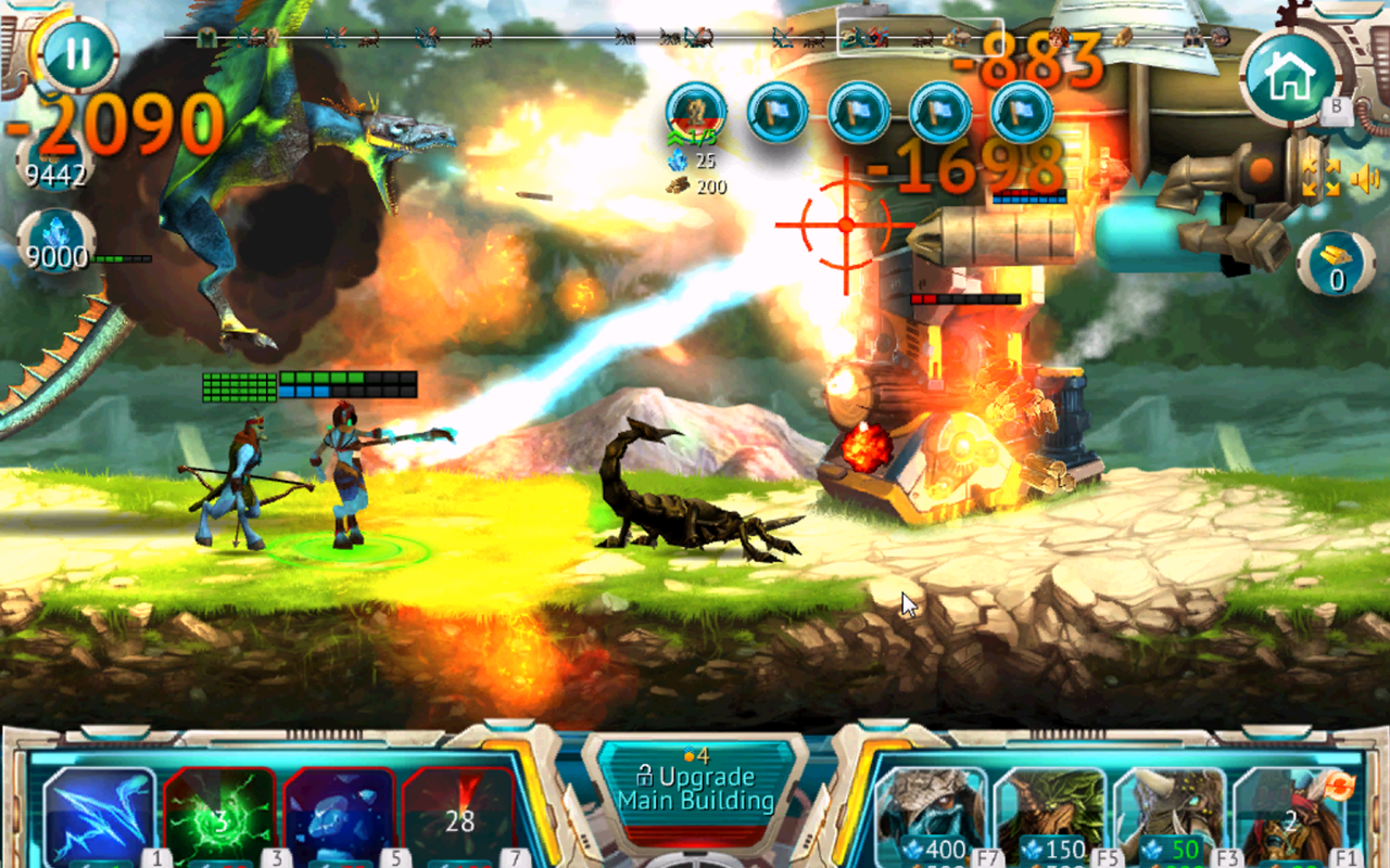 Steam Defense: Tanks & Dragons Screenshot #2