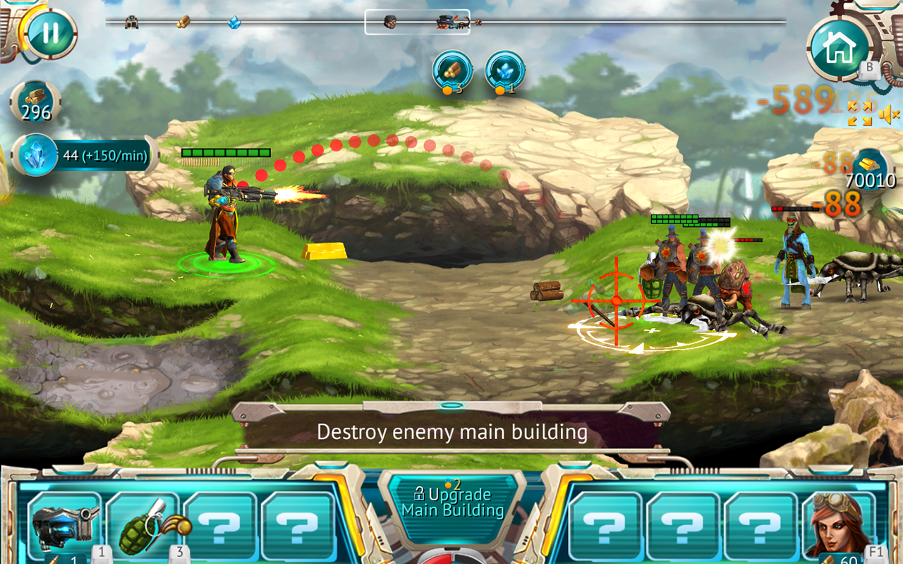 Steam Defense: Tanks & Dragons Screenshot #4