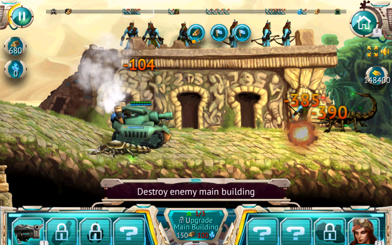 Steam Defense: Tanks & Dragons Screenshot #3